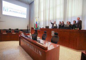 Laura Fernández sostuvo una reunión en Medellín