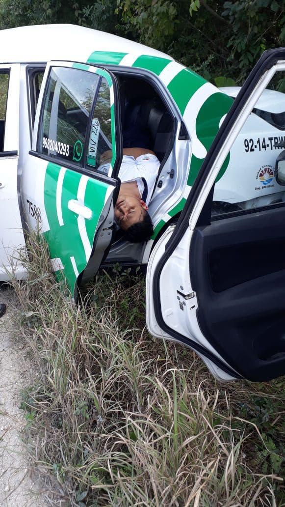 El cuerpo fue llevado al Servicio Médico Forense (Semefo) para la necropsia de ley.