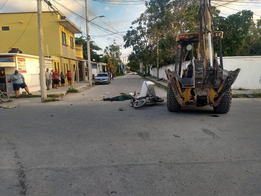 Mueren dos motociclistas en hechos distintos en Cancún