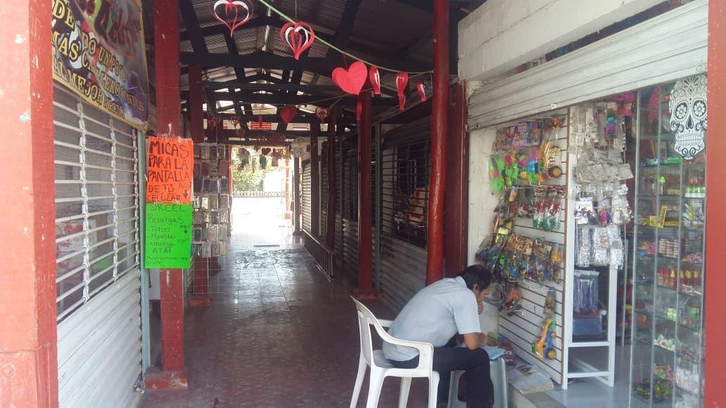 En picada mercado 5 de Abril de Chetumal
