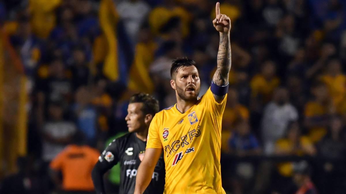 Liga MX: Tigres se impone 3-2 a Necaxa en la Jornada 7 del Clausura 2019