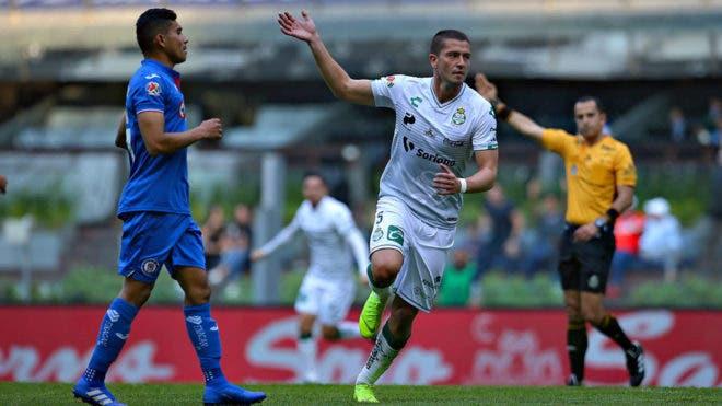Liga MX: Santos derrota a Cruz Azul en la Jornada 7 del Clausura 2019