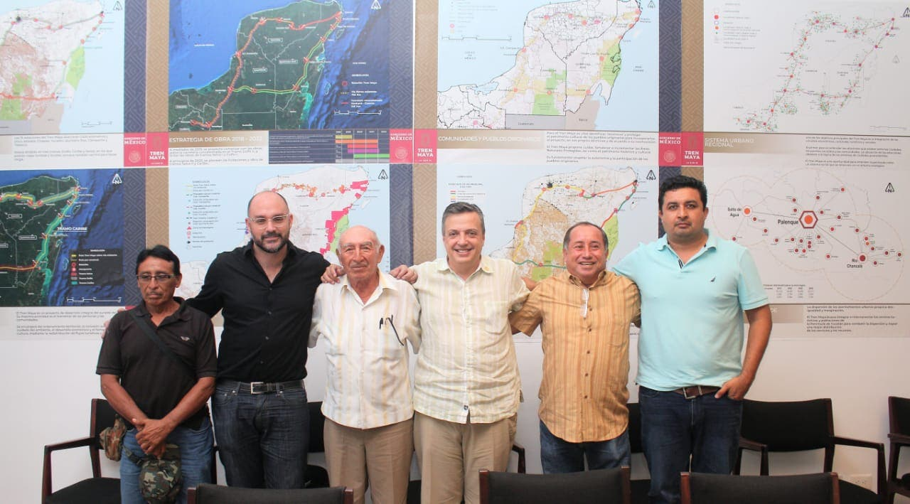 El Tren Maya va por buen camino: Luis Alegre