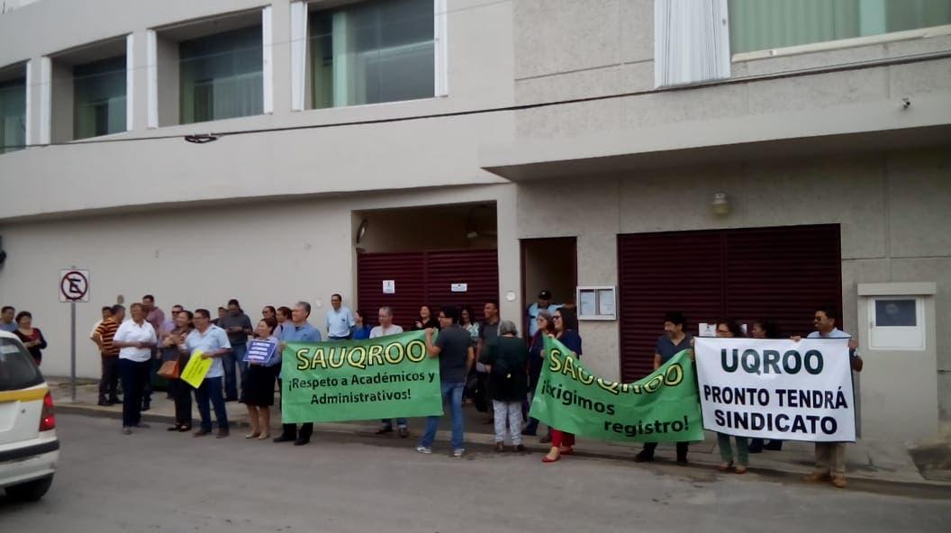 Trabajadores de la Uqroo buscan conformar sindicato
