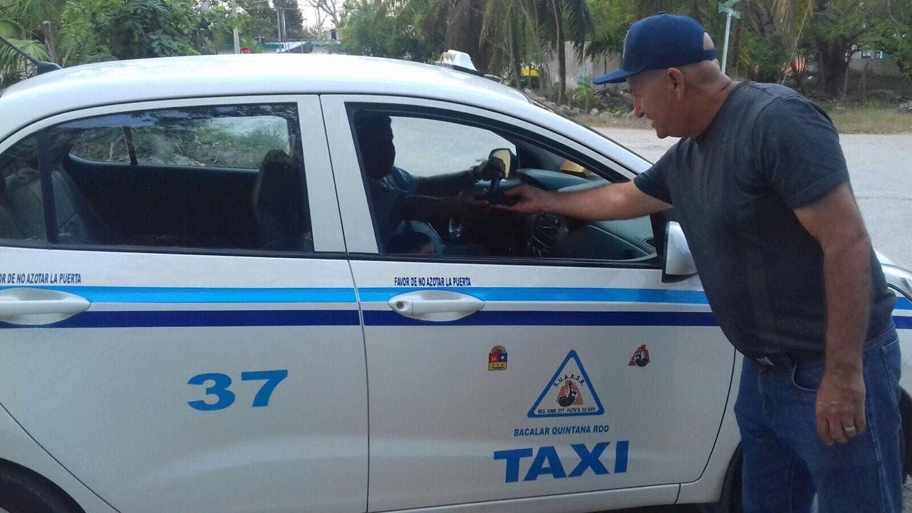 Termina conflicto entre taxistas de Chetumal y Bacalar