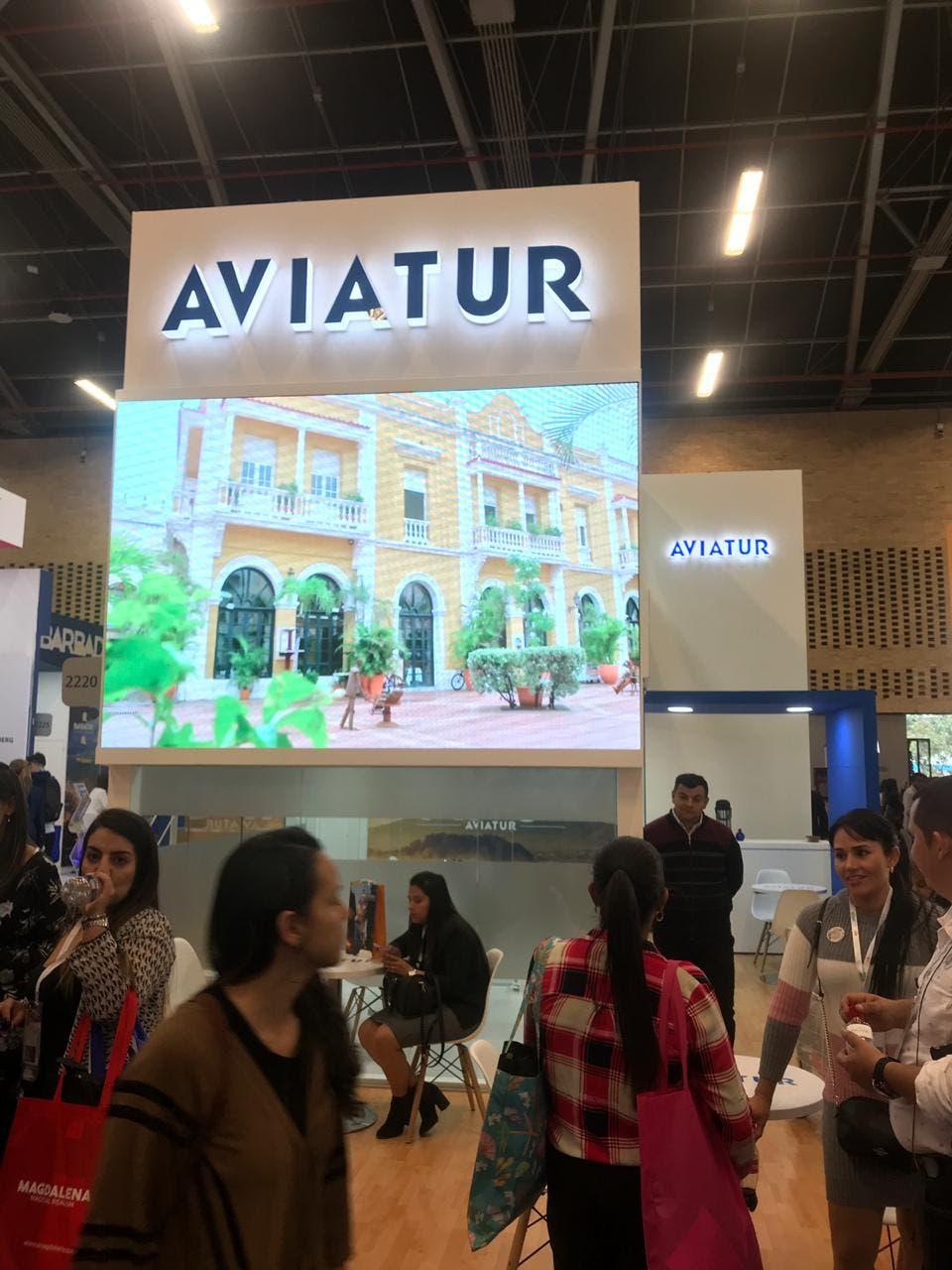 Aviatur, agencia mayorista de viajes, empresa que creó alianza con Puerto Morelos