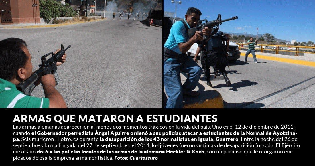 Multan a fabricante alemán de armas por dotar a México