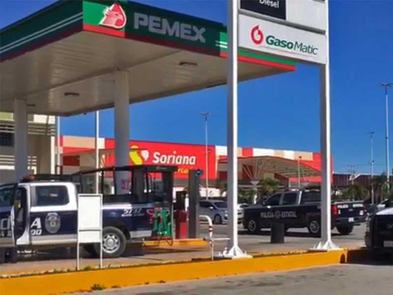 Asalto gasolinera