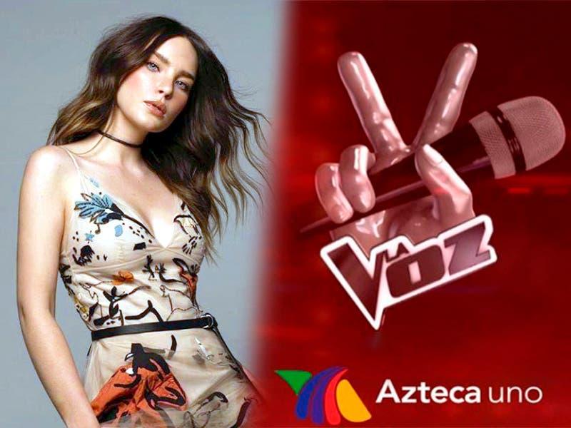 Belinda será coach en La Voz México