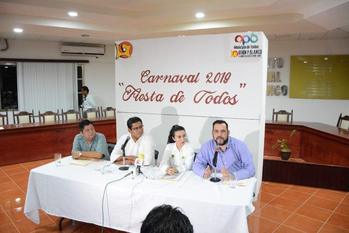 Millonario derroche para carnaval de Chetumal