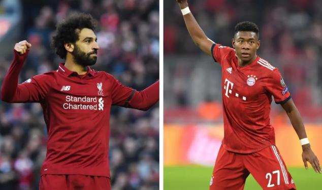 UEFA: En vivo Liverpool vs Bayern Octavos de Final Champions League