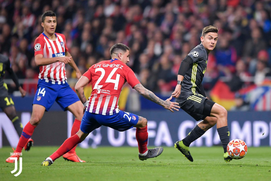 UEFA: Atlético derrota a Juventus en Octavos de Final Champions League