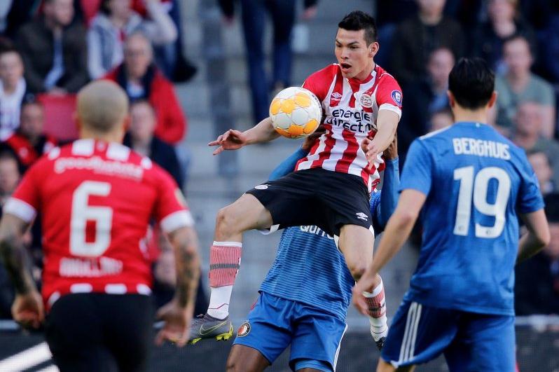 Eredivisie: Golazo de 'Chucky' Lozano le da el empate a PSV