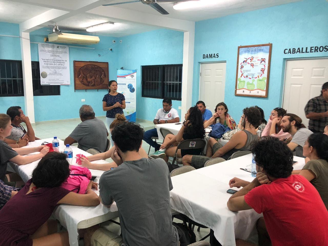 Cooperativa de Cozumel realiza intercambio de trabajo con italianos