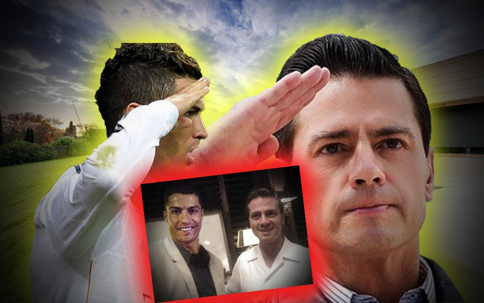 ¿Peña Nieto y Cristiano Ronaldo viven juntos?