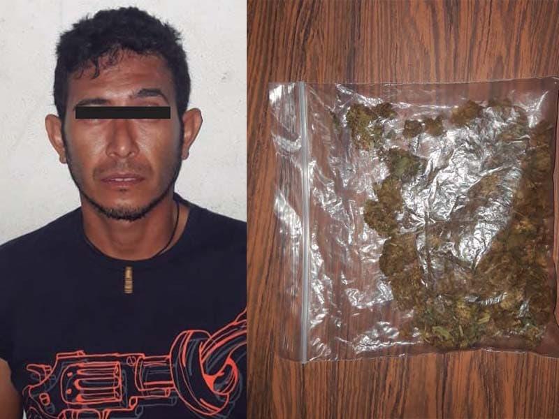 Detenido por droga