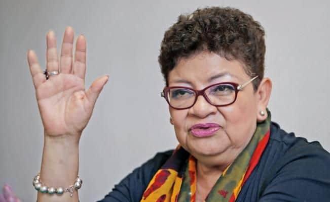 La Procuradora General de Justicia de la Ciudad de México, Ernestina Godoy Ramos, explicó que la diputada presentó una denuncia