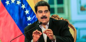 """Nicolás Maduro dijo que """"Venezuela es víctima"""" de una agresión que encabeza el presidente de los Estados Unidos"""