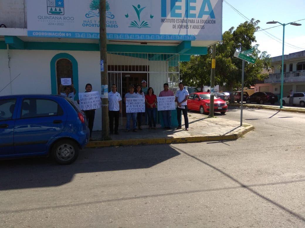 Trabajadores sindicalizados del IEEA inician paro nacional