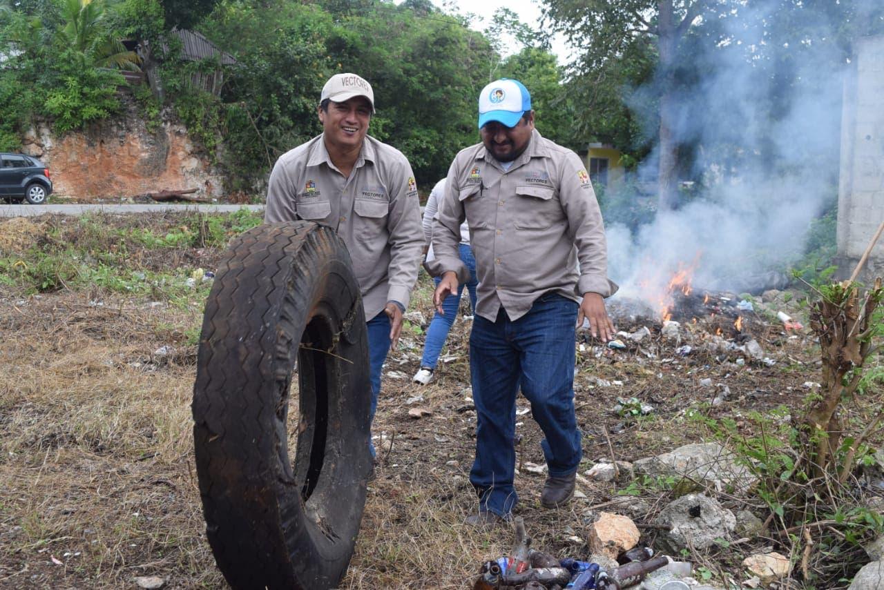 Felipe Carrillo Puerto prepara jornada para eliminar los moscos