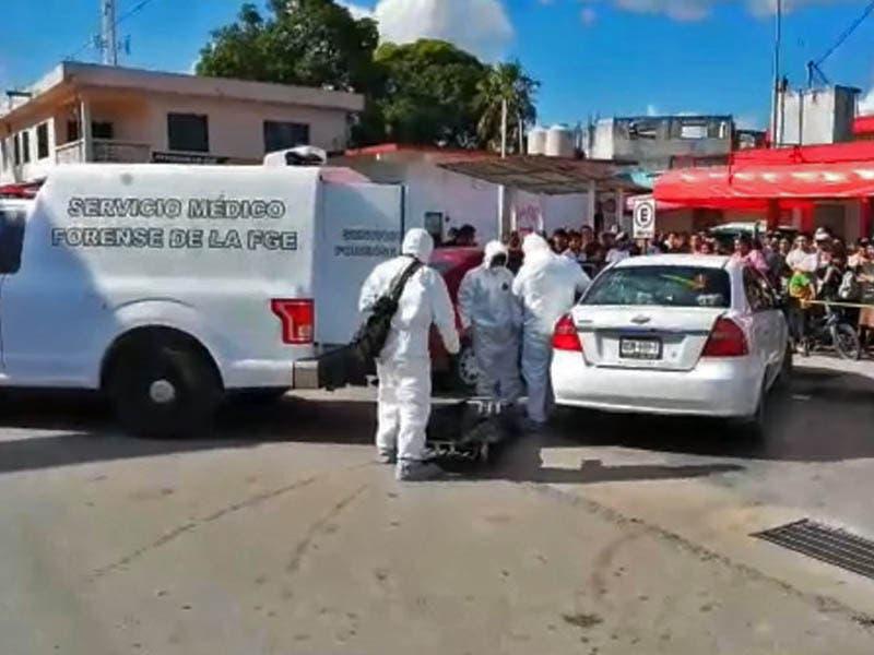 Muerto en Felipe Carrillo Puerto