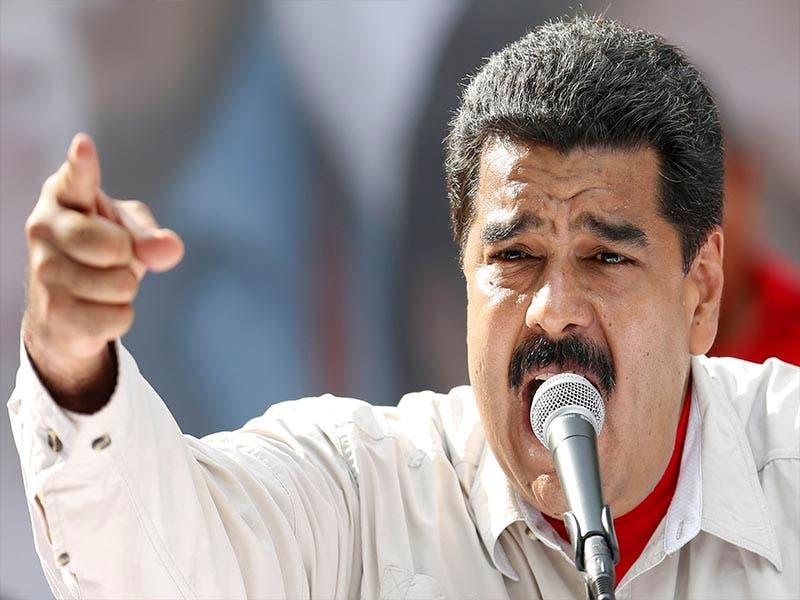 """Nicolás Maduro le grita """"fuera"""" a Donald Trump"""
