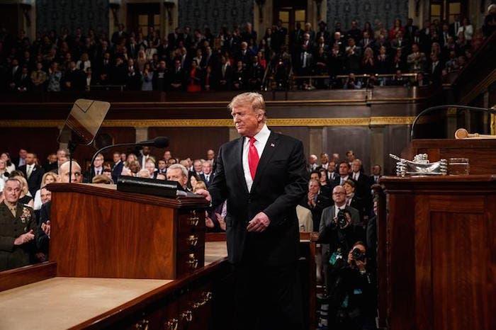 Verdades a medias en el discurso de Trump