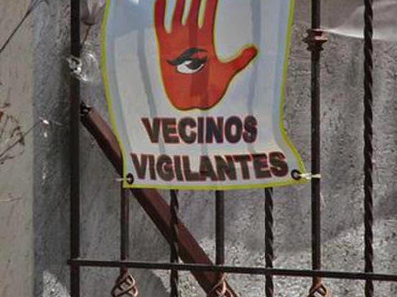 Vecinos vigilantes