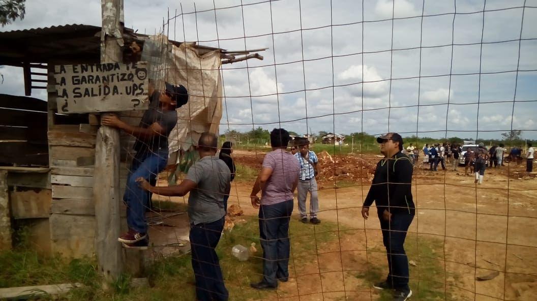 Enfrentamiento de Ejidatarios de Calderitas que disputan un terreno