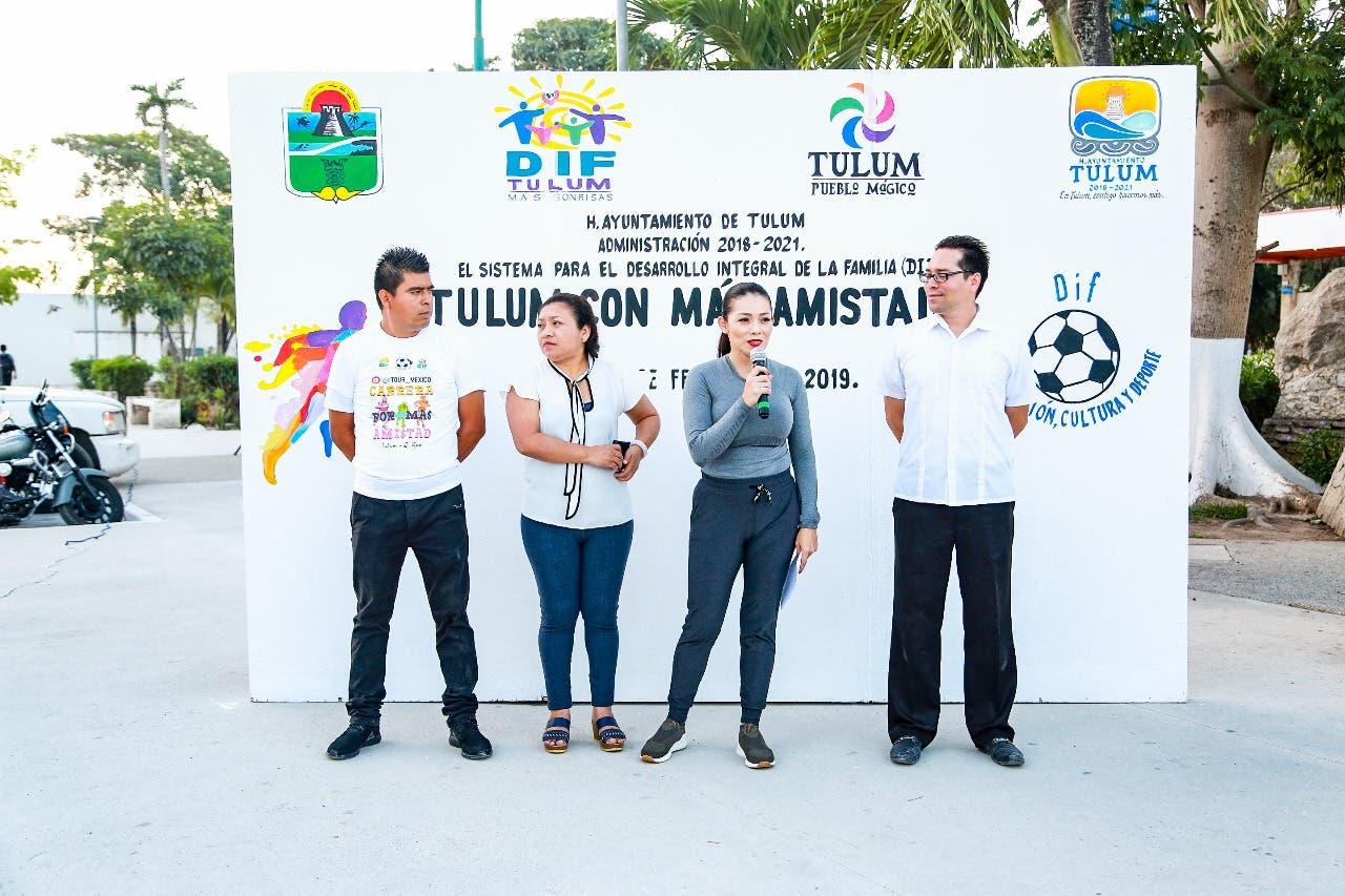 Autoridades de Tulum impulsando el deporte