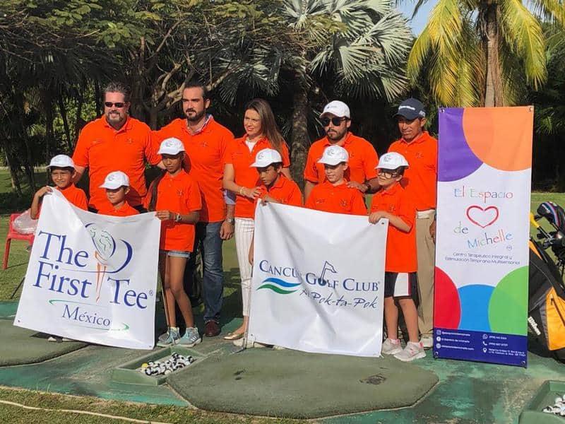 Inicia con gran éxito el First Tee México Cancún
