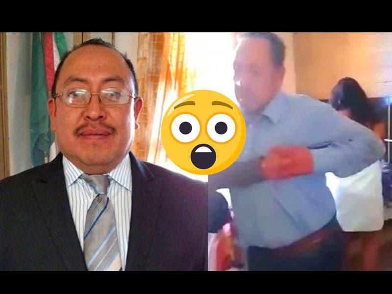Vídeo: Cachan alcalde con una trabajadora que da placer en la cama de un hotel