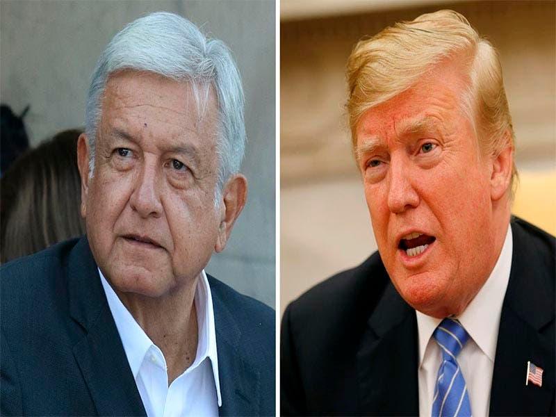 AMLO agradece a Donald Trump por respetar al gobierno de México en su informe anual