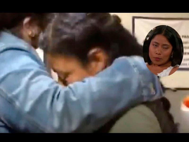 Vídeo: Medios persiguen a mamá de Yalitza Aparicio y estuvo a punto de llorar