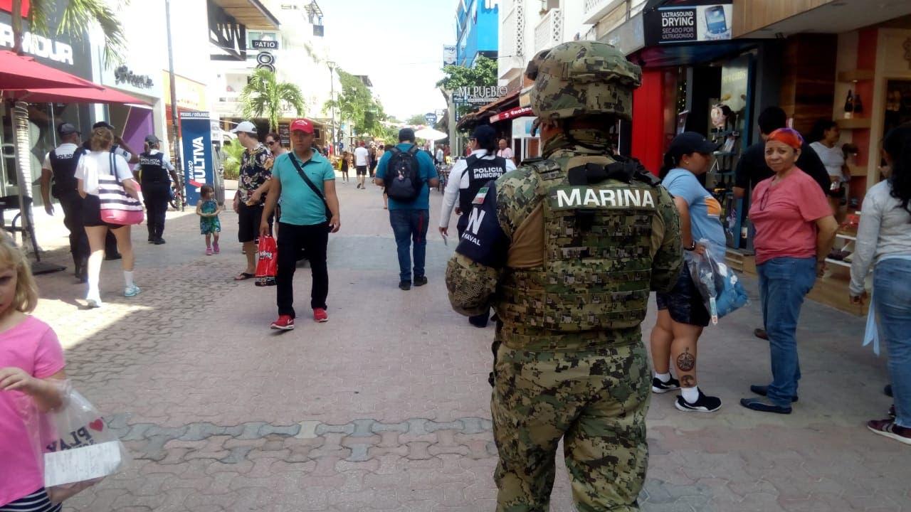 Exigen en Playa del Carmen resultados en seguridad