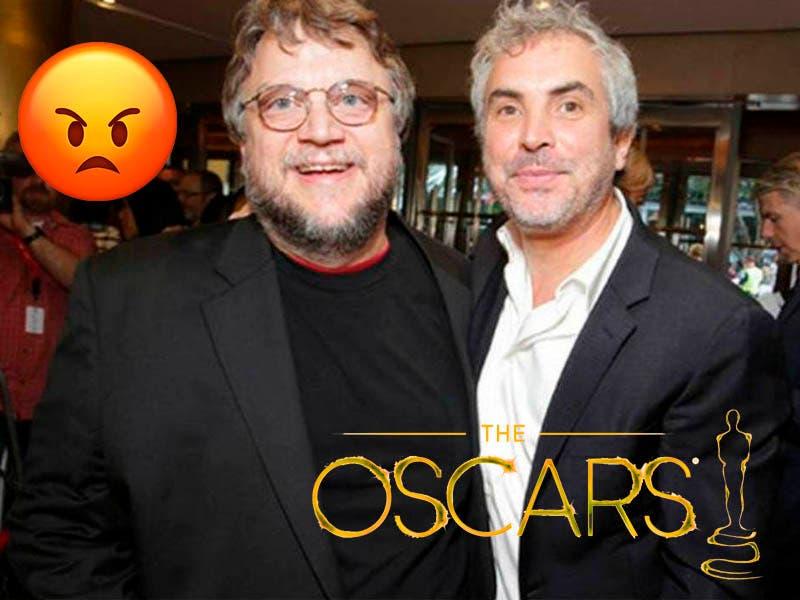 Alfonso Cuarón y Guillermo del Toro enojados con el Oscar por quitar transmisión de categorías
