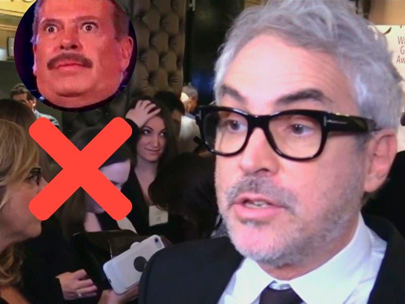 Vídeo: Alfonso Cuarón le contesta a Sergio Goyri sobre el insulto a Yalitza Aparicio