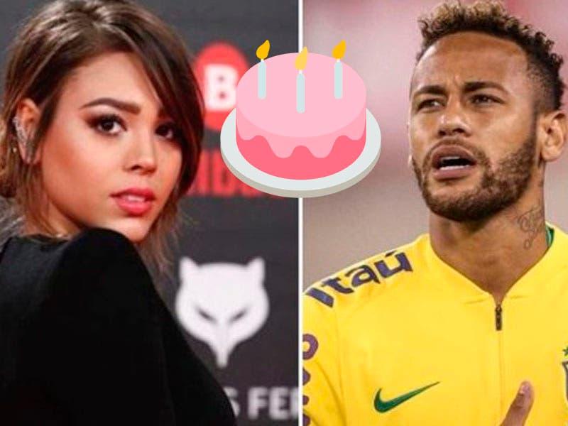 Foto: Cachan a Danna Paola con Neymar en su cumpleaños