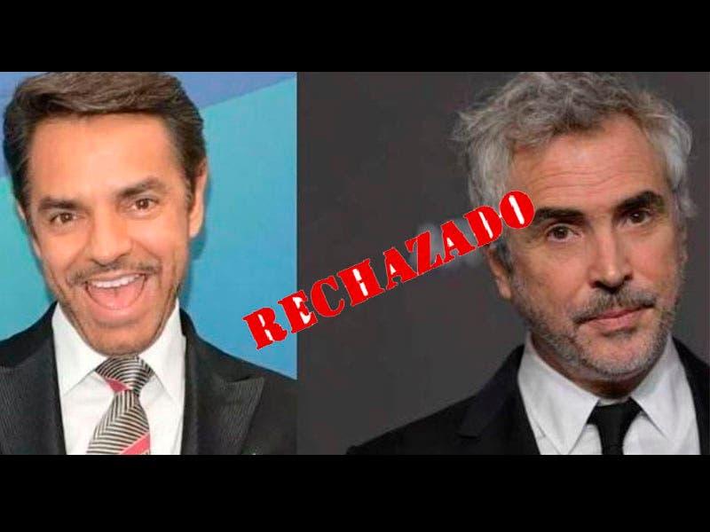 Foto: Eugenio Derbez rechazó a Alfonso Cuarón y lo critican en redes sociales