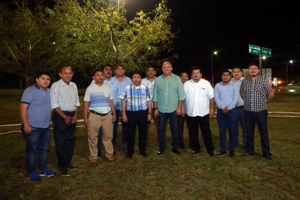 Agradece delegado la inmediata respuesta del presidente Víctor Mas Tah