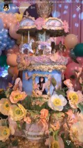 Pastel de cumpleaños de Stormi