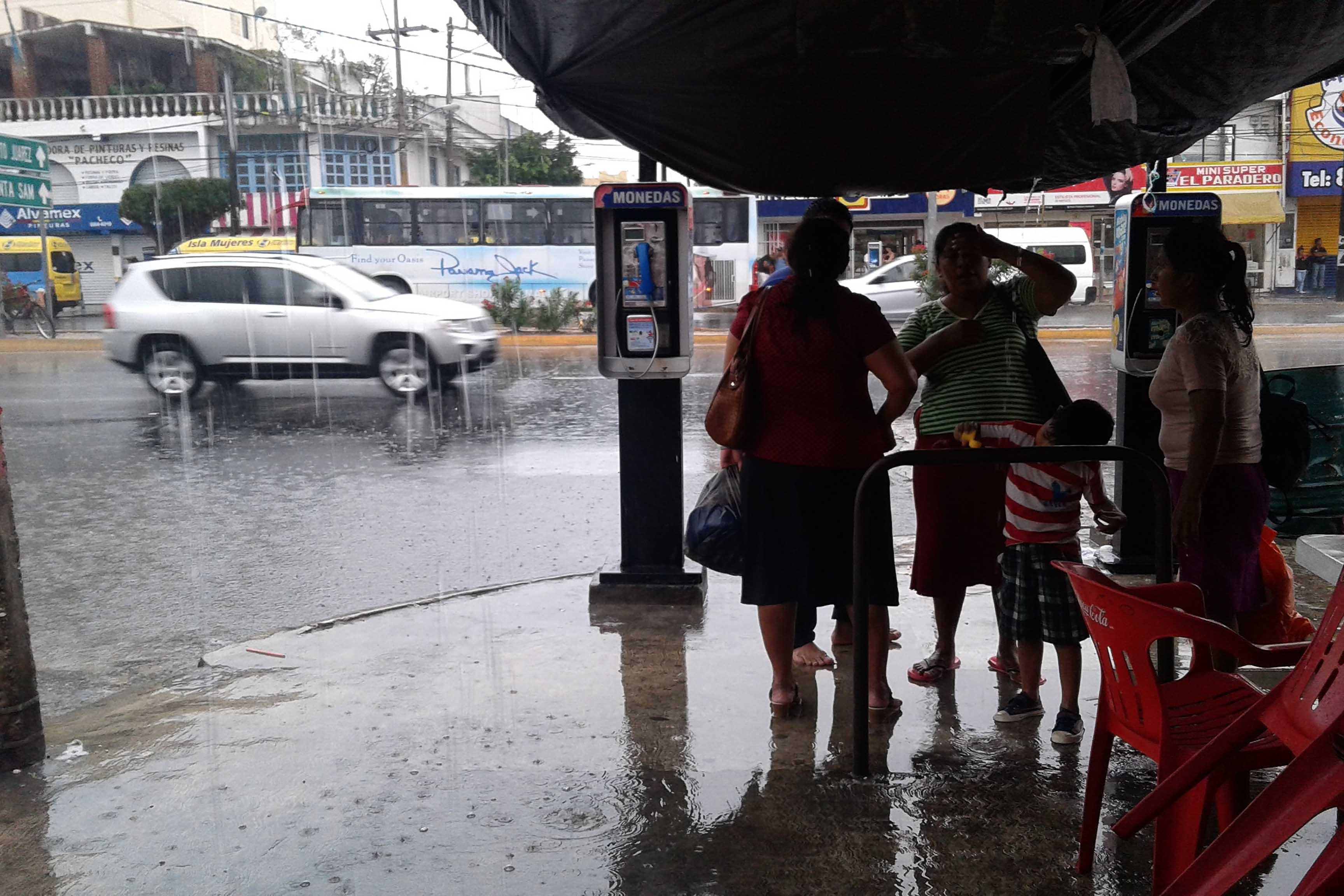 Pronostican lluvias, calor y fresco en la Península de Yucatán