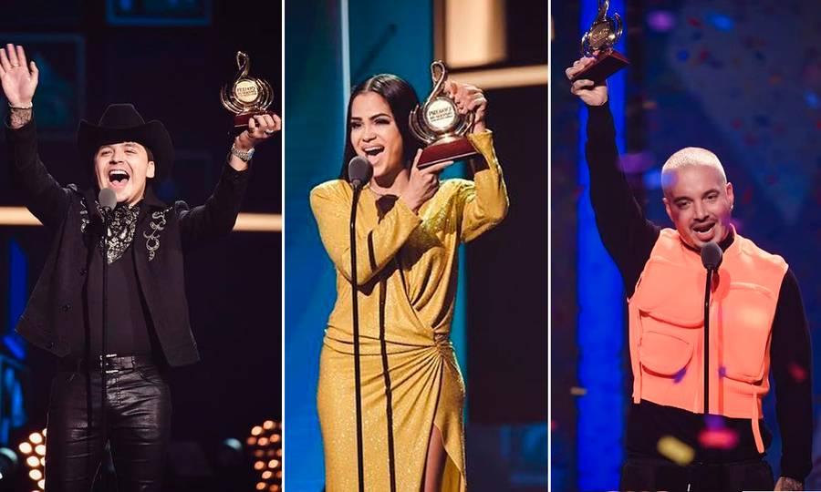 Fotos: Los ganadores de los Premios lo Nuestro 2019 y los looks de la velada