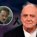 ¡Muere Hitler! El actor suizo Bruno Granz fallece de cáncer a los 77 años