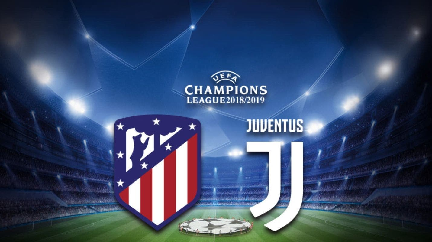 UEFA: En vivo Atlético de Madrid vs Juventus Octavos de Final Ida Champions League