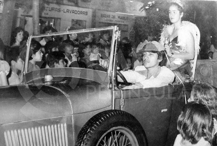 Primer Carnaval de Cancún