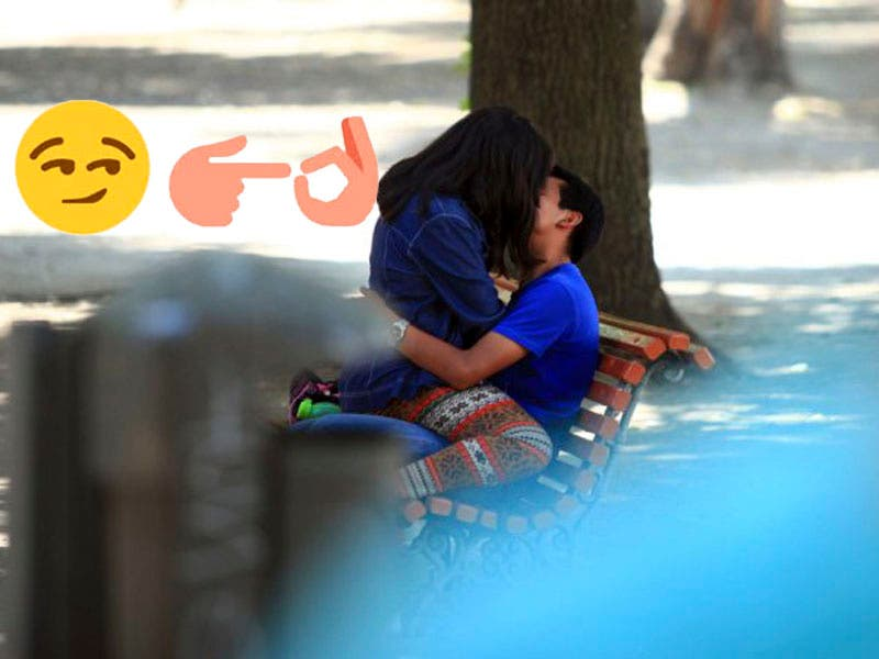 Vídeo: Pareja calenturienta no se aguantó y tuvieron relaciones en la calle