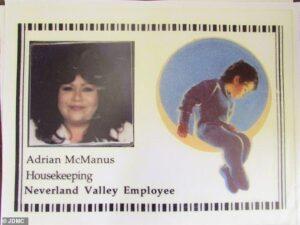 Adrian McManus, ex empleada doméstica de Michael Jackson