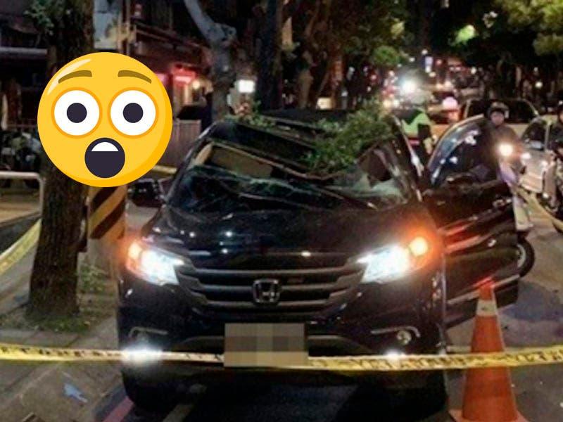 Vídeo: Suicida se tira del piso 13 de un edificio y sorpresa sobrevive al caer a un carro