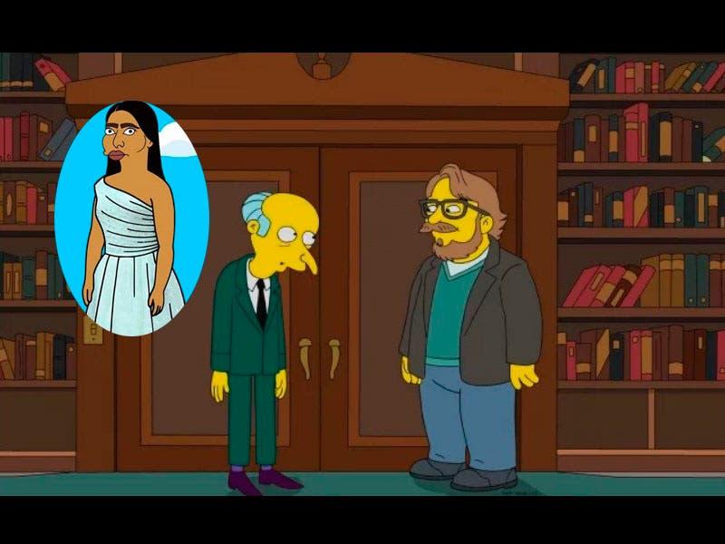 Fotos: Yalitza Aparicio y Guillermo del Toro son personajes de Los Simpson, el director mexicano saldrá en un capítulo